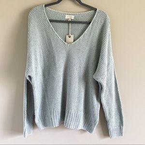 Lucky Brand Knit V-Neck Sweater